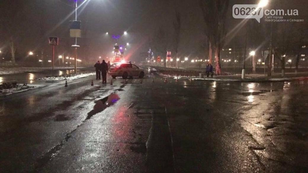 В Покровске автомобиль насмерть сбил двух человек на пешеходном переходе, фото-1