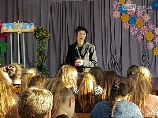Селидовские школьники пообщались с прокурором, фото-1