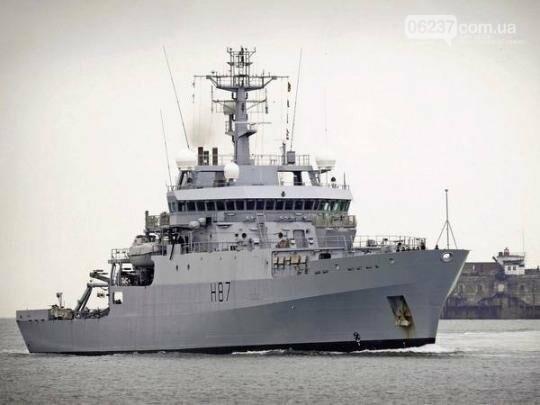 В Черное море неожиданно зашел разведывательный корабль НАТО, фото-1