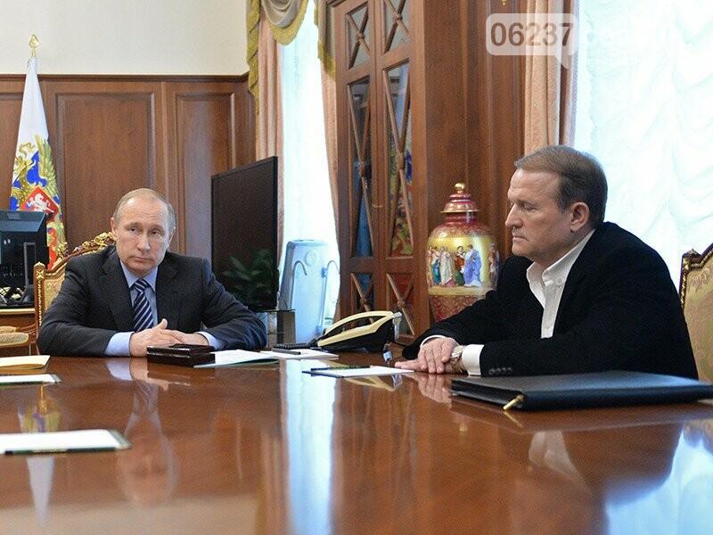 Медведчук рассказал, какие вопросы обсуждает с Путиным в Москве, фото-1