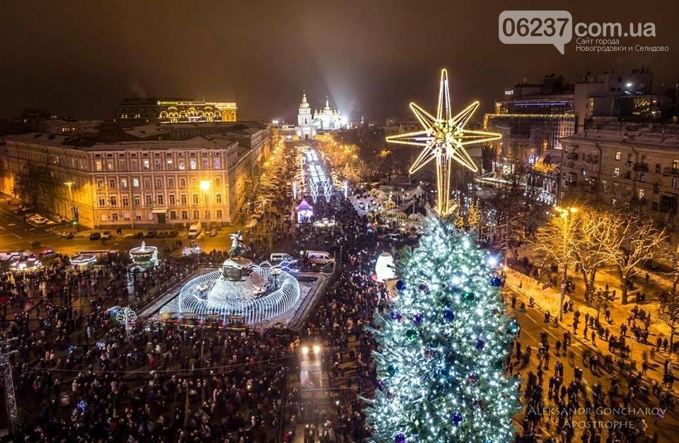 В сети опубликовали фантастические фото новогоднего Киева, фото-1