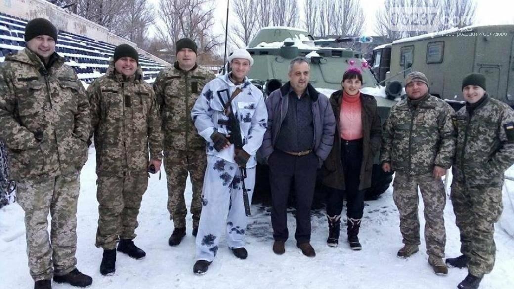 Полтавские волонтеры привезли бойцам ВСУ на передовую неожиданные подарки, фото-1