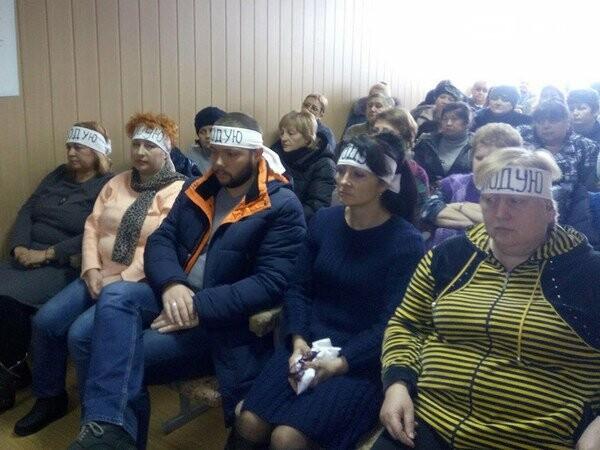 Третий день продолжается голодовка работников шахты «Кураховская», фото-1