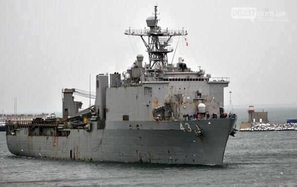 Корабль ВМС США проведет учения в Черном море, фото-1