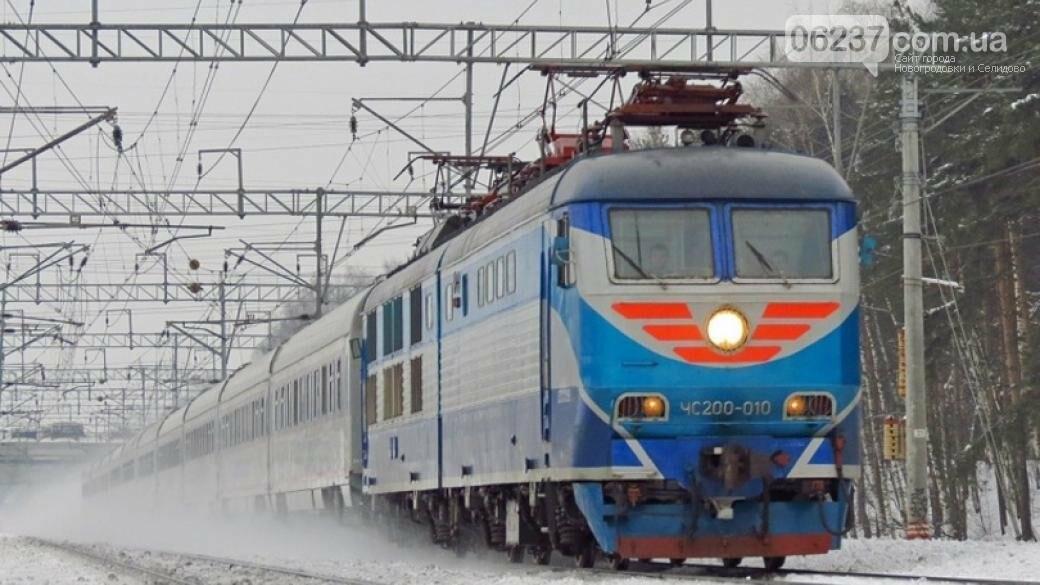 На Харьковщине пассажирский поезд насмерть сбил женщину, фото-1