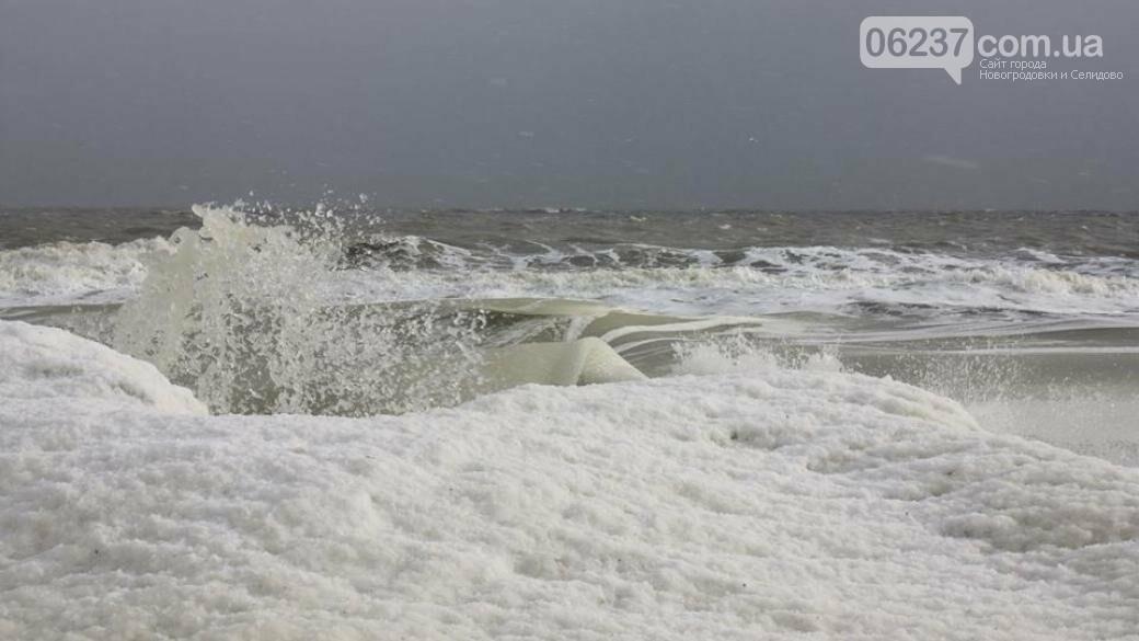 Опубликовано яркое видео замерзшего Азовского моря, фото-1