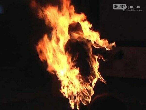 Пытаясь разжечь печь, жительница Селидово превратилась в живой факел, фото-1
