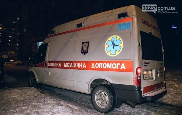 В Киеве иностранец опоздал на самолет и выпрыгнул с 14 этажа, фото-1