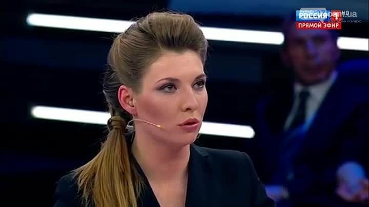 Украинская журналистка в прямом эфире поставила на место российскую пропагандистку Скабееву, фото-1