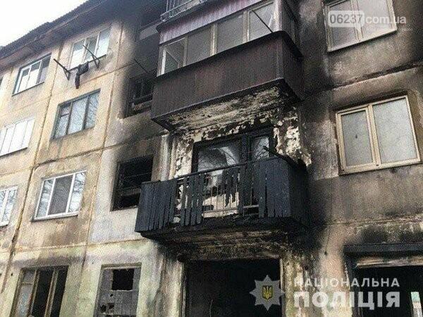 В одной из многоэтажек Украинска прогремел взрыв, в результате которого пострадали три человека, фото-1