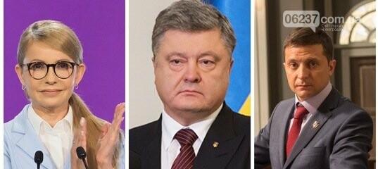 Тимошенко, Порошенко и Зеленский лидируют в президентском рейтинге, фото-1