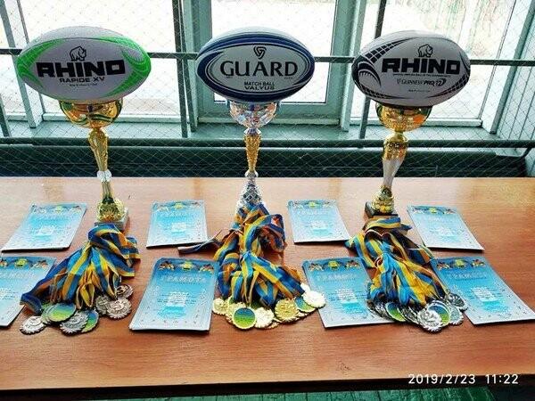В Селидово прошел чемпионат Донецкой области по бесконтактному регби, фото-1