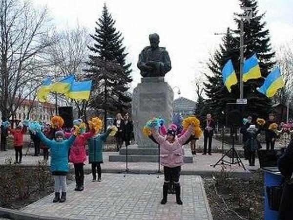 В Новогродовке почтили память Тараса Шевченко, фото-1