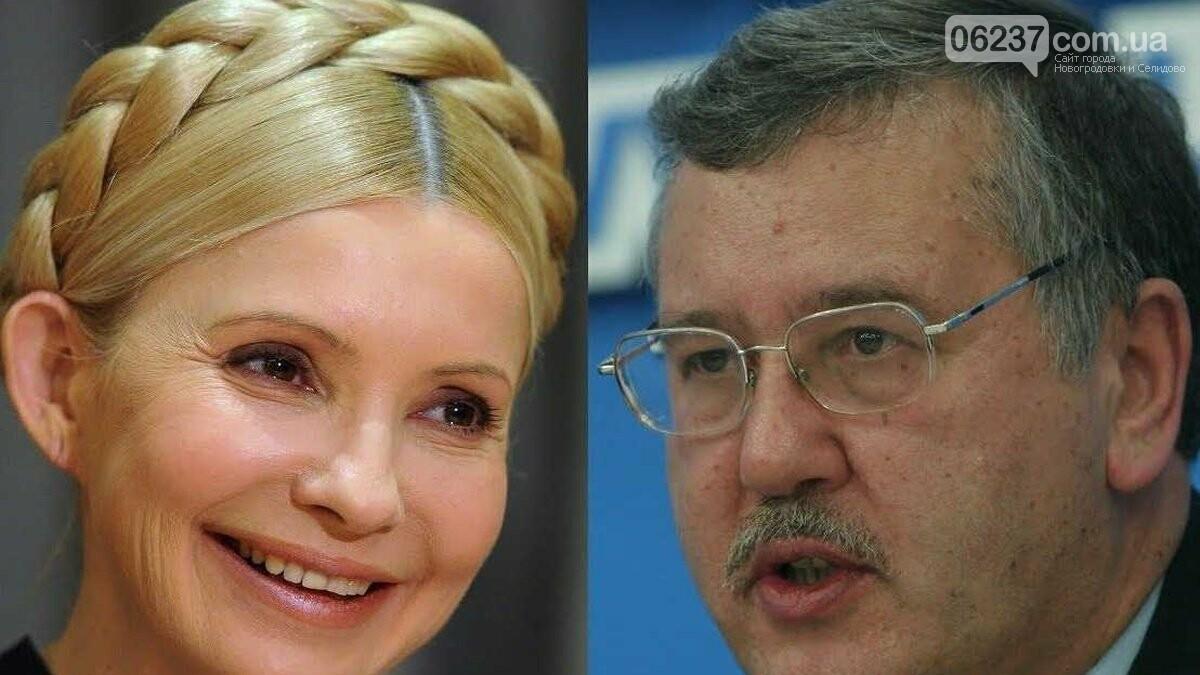 «Сезонный авитаминоз?»: Гриценко отреагировал на слова Тимошенко об объединении, фото-1