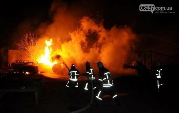 Пожар на автостоянке в Кропивницком ликвидирован, фото-1
