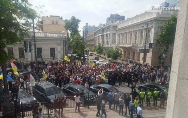 """""""Евробляхеры"""" устроили стычки с полицией под Радой, фото-1"""
