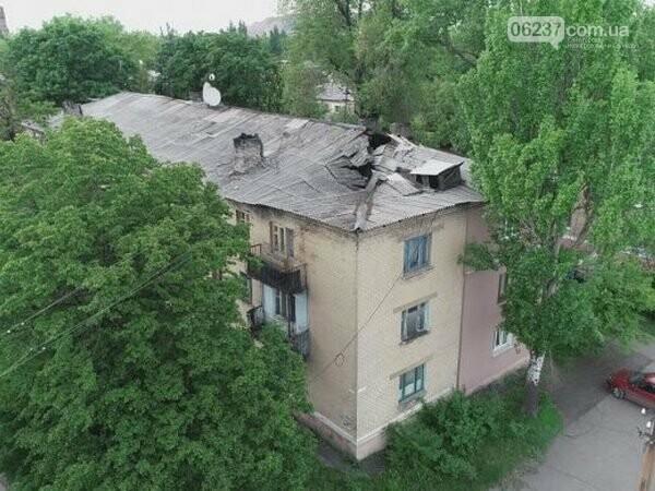 Жители многоэтажки в Украинске живут почти под открытым небом, фото-1