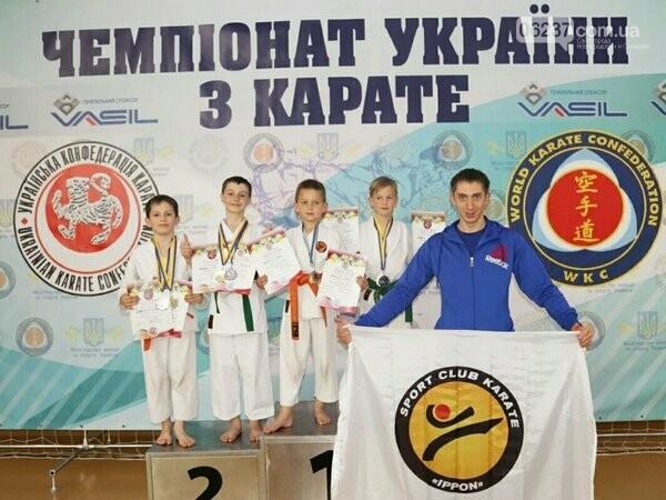 Каратисты из Селидово завоевали 8 медалей на чемпионате Украины, фото-1