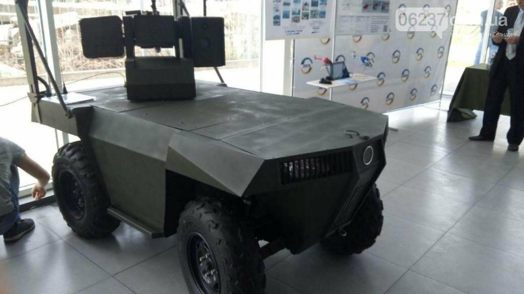В Украине создали нового боевого робота «Ласка 2.0», фото-1