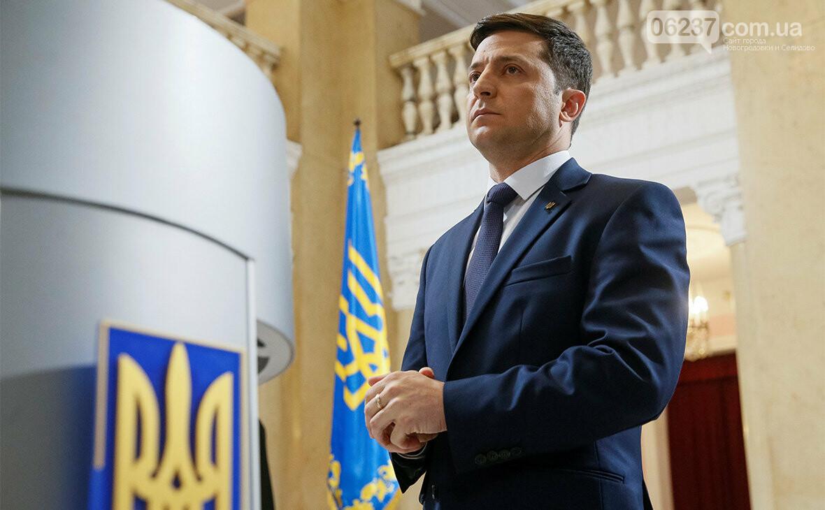 Президент Зеленский подписал первый указ, фото-1