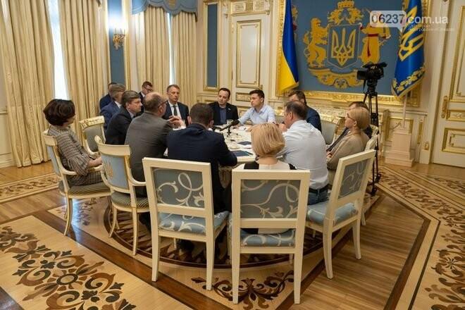 Зеленский и лидеры фракций договорились о дате выборов в Раду, фото-1