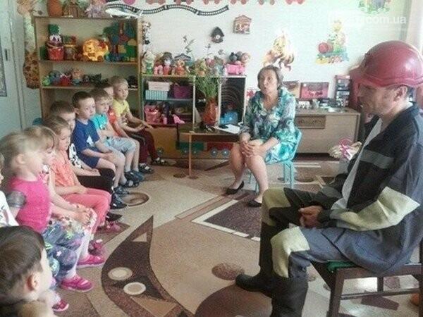В Горняке детей познакомили с профессией шахтера, фото-1