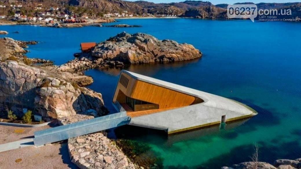 В Норвегии открылся первый в Европе подводный ресторан, фото-1