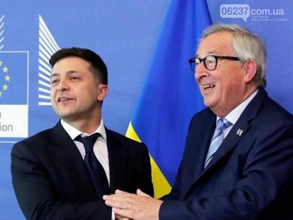 Зеленский в Брюсселе анонсировал первые реформы в Украине, фото-1