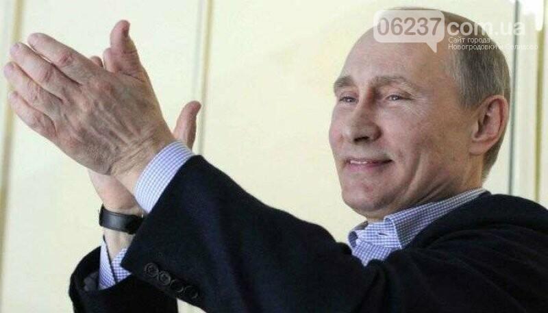 Путин назвал Зеленского хорошим актером, фото-1