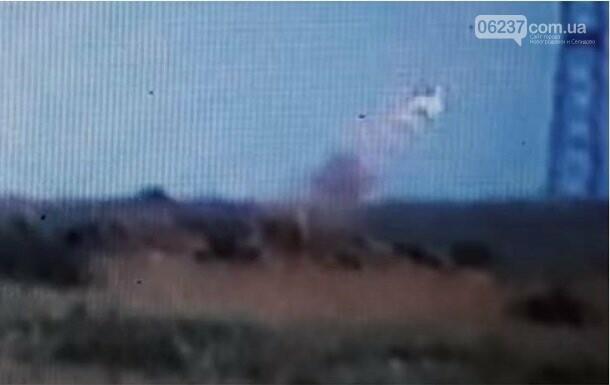 Волонтер опубликовал видео уничтожения позиций сепаратистов, фото-1