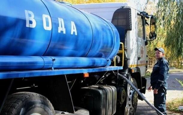В Торецке выдают по 40 литров воды, фото-1