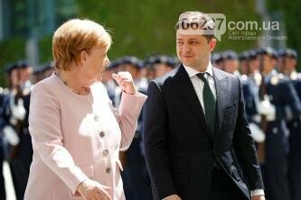Зеленский прокомментировал инцидент с Меркель, фото-1
