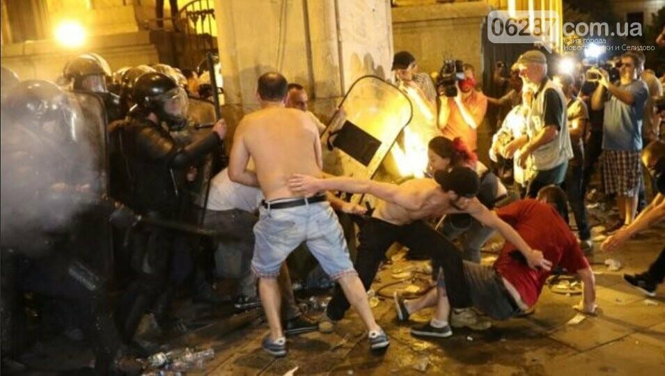 Правоохранители разогнали протесты в Тбилиси, фото-3