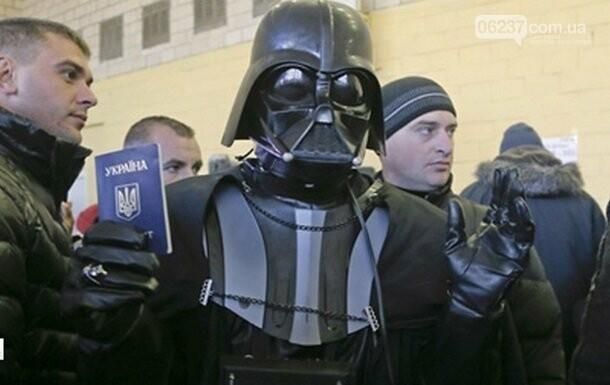 Дарт Вейдер идет на выборы в Раду, фото-1