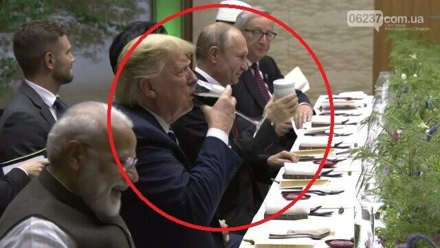 Путин на ужин G20 пришел со своим термосом, фото-1