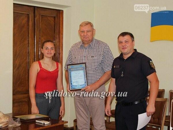 Мэр Селидово наградил победительницу Всеукраинского конкурса из Украинска, фото-1