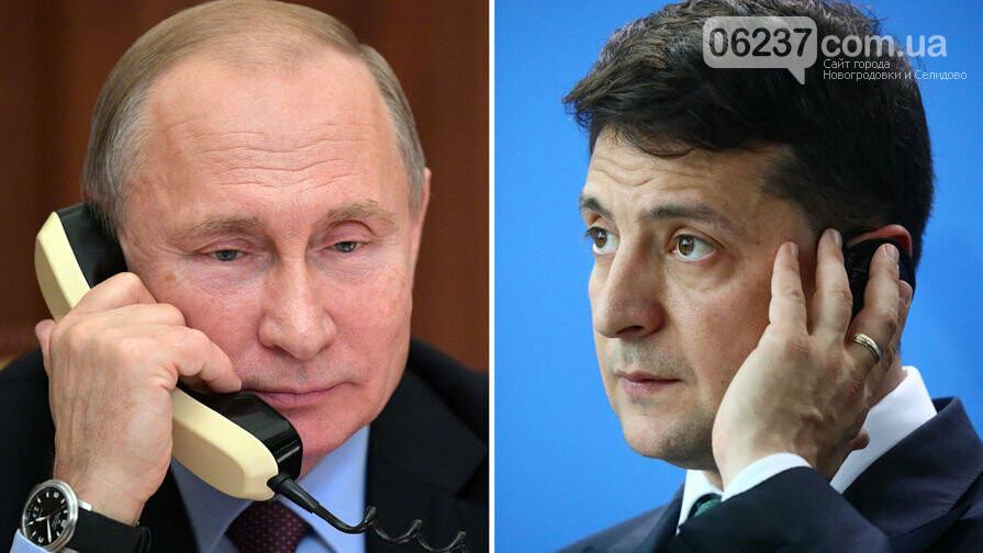 Зеленский впервые позвонил Путину, фото-1