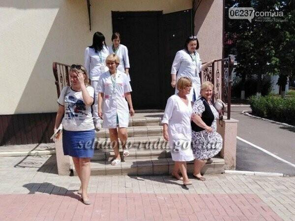В Селидово персонал и пациентов амбулатории эвакуировали из-за «пожара», фото-1
