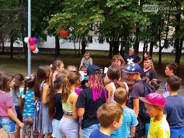 В Селидово детям устроили «Веселое лето», фото-1