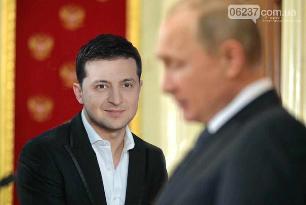 Зеленский, Путин и тема Донбасса: очный контакт все ближе, фото-1