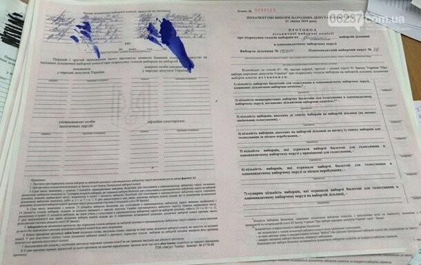 Зафиксирована первая попытка фальсификации выборов, фото-1