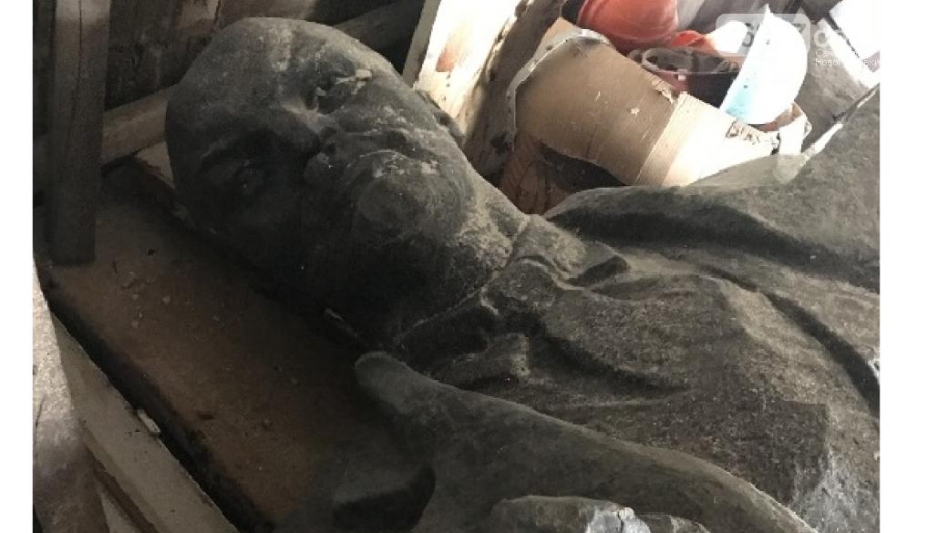 Бронзовую статую Ленина продают с аукциона для погашения долгов по зарплате, фото-1