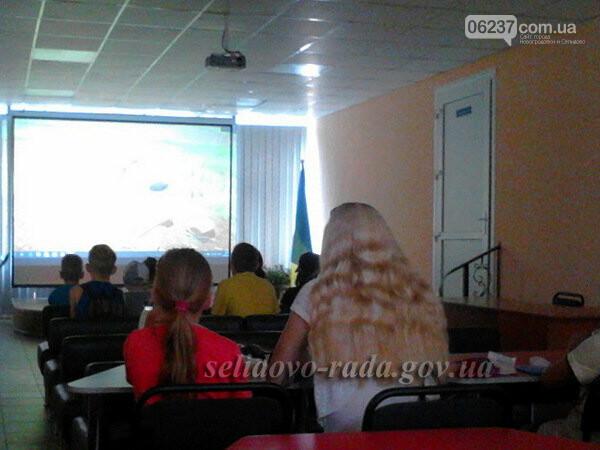 В Селидово продолжаются бесплатные показы мультфильмов, фото-1