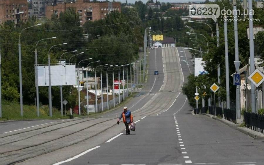 Видеоблогер наглядно продемонстрировал безлюдный центр оккупированного Донецка, фото-1