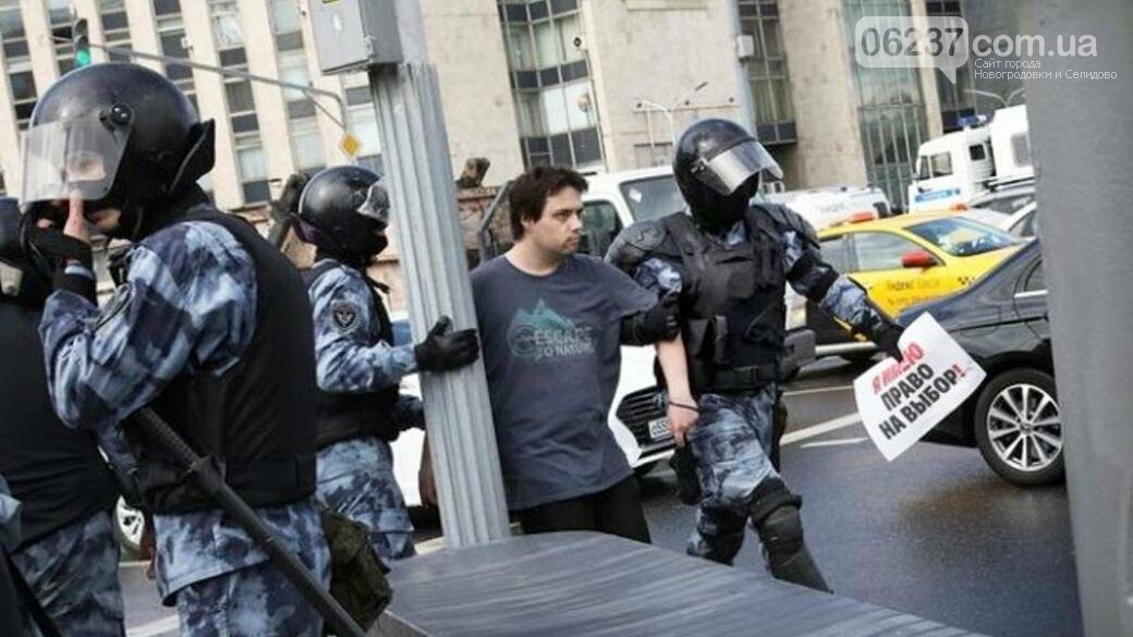 В Москве число задержанных на митинге возросло до 828 человек, фото-1