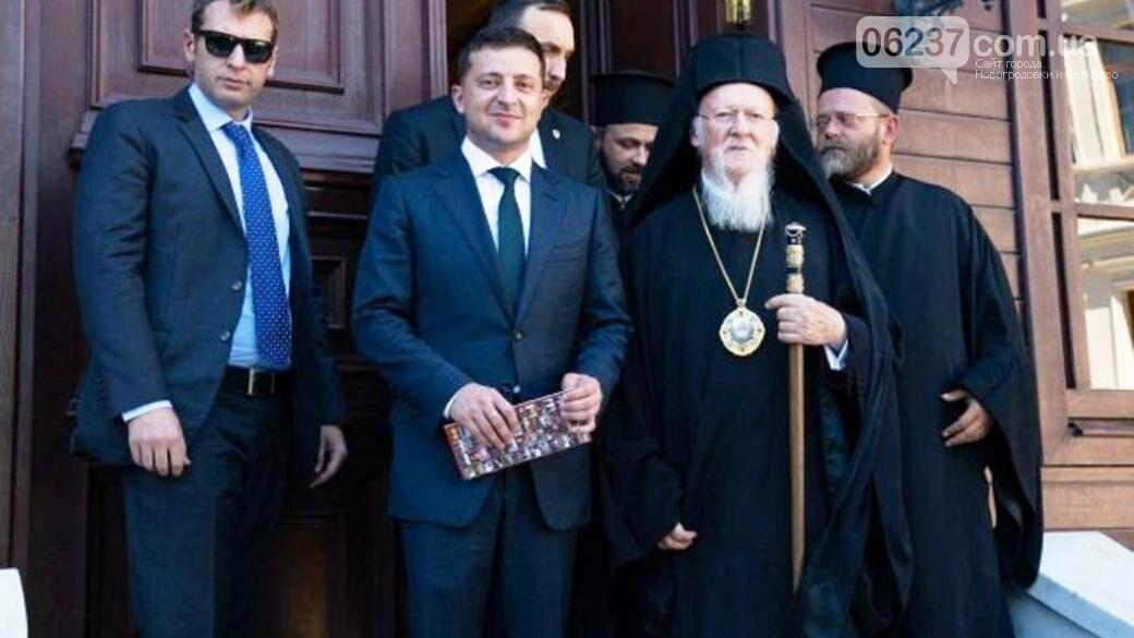 Зеленский рассказал, о чем говорил с Вселенским патриархом Варфоломеем I, фото-1