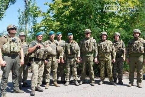 Глава СБУ посетил передовую на Донбассе, фото-1