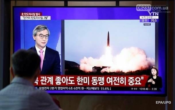 КНДР провела запуск двух неопознанных снарядов, фото-1