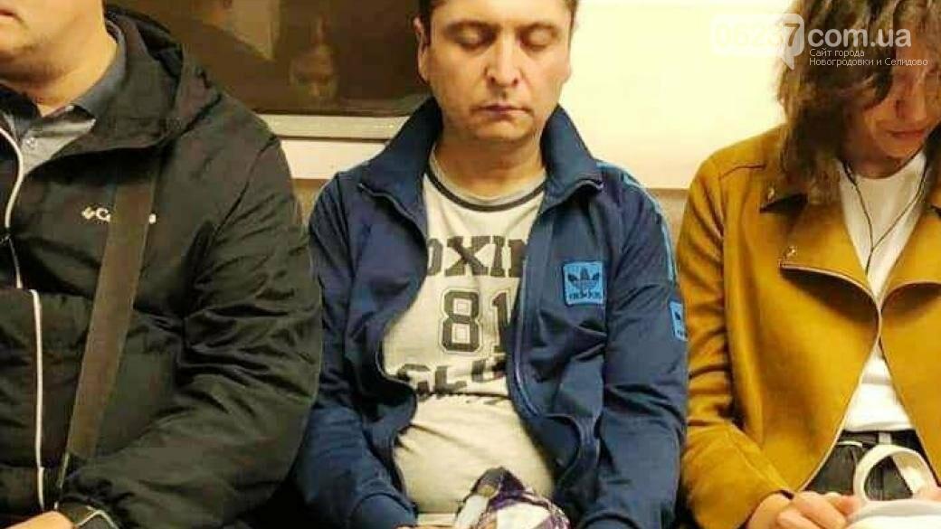 В метро заметили двойника Зеленского: опубликованы фото, фото-1