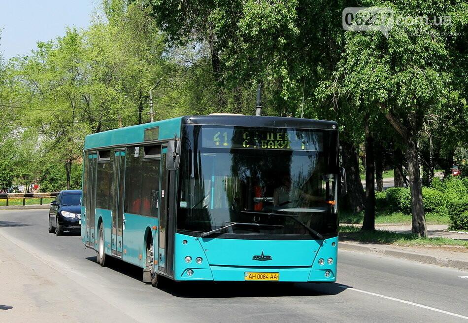 В Донецке продлят график работы транспорта и сделают бесплатным проезд, фото-1